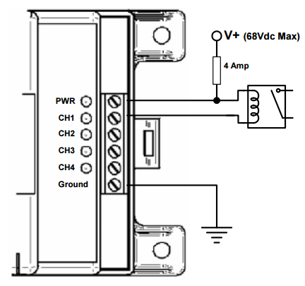Figure 1: Relay Wiring Diagram